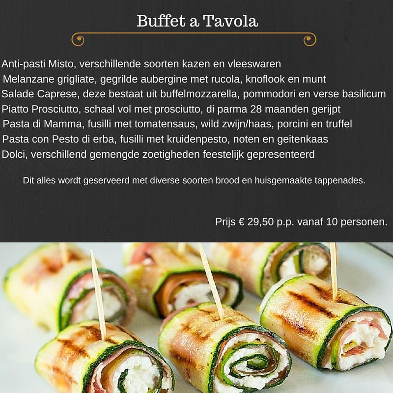 Buffet a Tavola